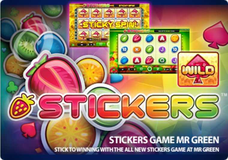 Stick to winning with the all new Stickers game at Mr Green