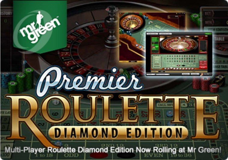Multi-Player Roulette Diamond Edition Now Rolling at Mr Green