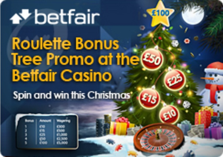 Roulette Bonus Tree Promo at the Betfair Casino