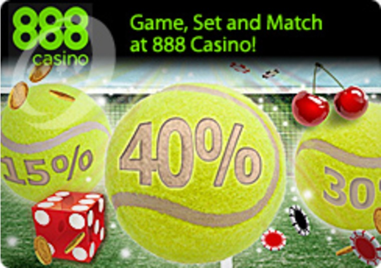 Game, Set and Match at 888 Casino