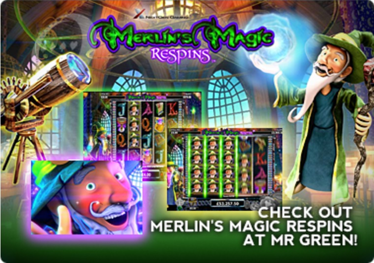 Check Out Merlin's Magic Respins at Mr Green