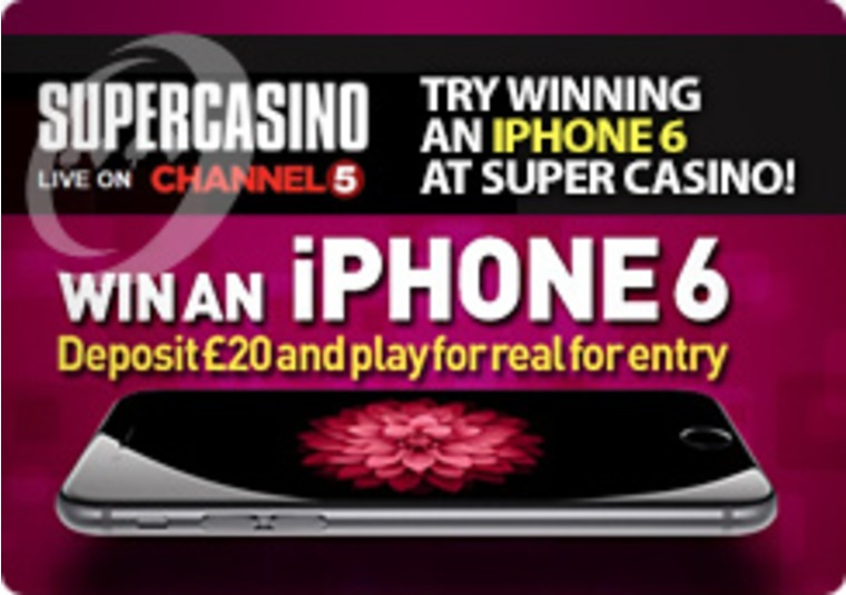 Try Winning an IPhone 6 at Super Casino