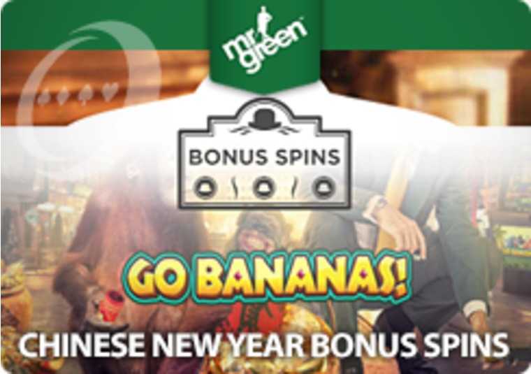 Celebrate the Chinese New Year with bonus spins from Mr Green